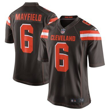 Baker Mayfield Cleveland Browns Nike Game Jersey - Brown