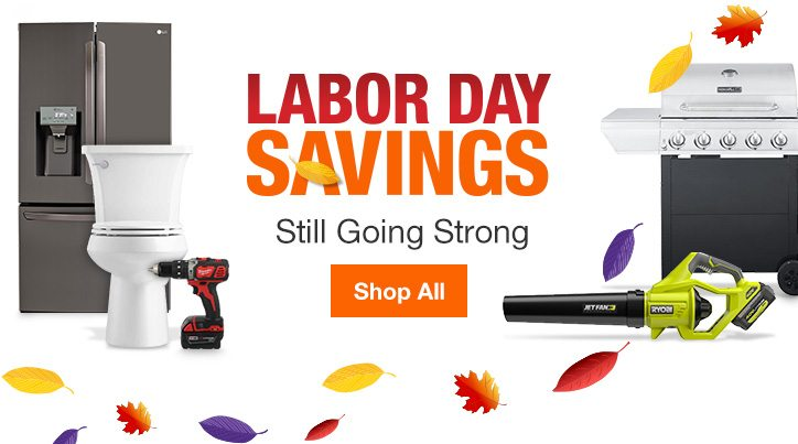 Labor Day Savings Tackle Your Weekend To Do List Home Depot Email Archive