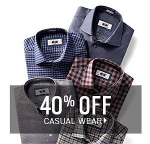 TAKING CARE OF BUSINESS | $249.99 Designer Suits + 3/$99.99 Dress Shirts + Extra 30% Off Clearance Sport Coats, Suits, Boys' Clothing, Shoes & Pants + 50% Off Clearance Outerwear + BOGO + 3/$99 Chinos, 5-Pocket Casual Pants & Dress Pants - SHOP NOW