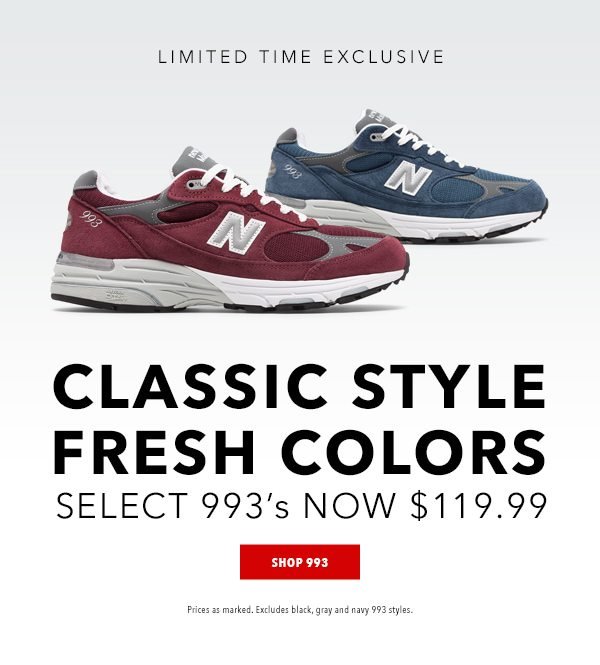 l 993 Exclusives from $119.99