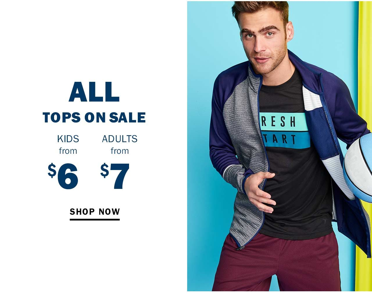 ALL TOPS ON SALE