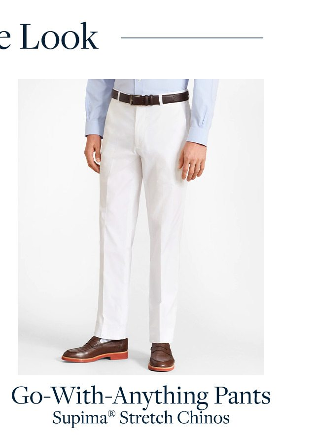 Go-With-Anything Pants Supima Stretch Chinos