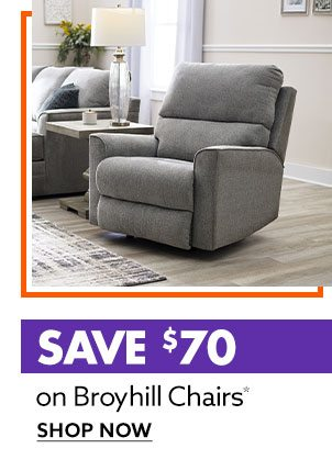 Save $70 Broyhill Chairs