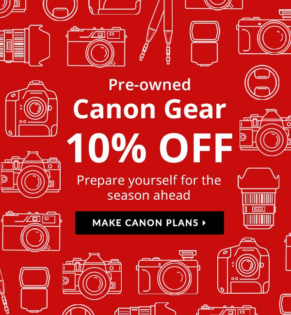 A Cool Canon Sale Is Here 🍃 - KEH Camera Email Archive