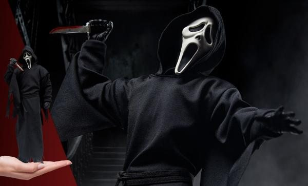 NOW AVAILABLE Ghost Face Sixth Scale Figure