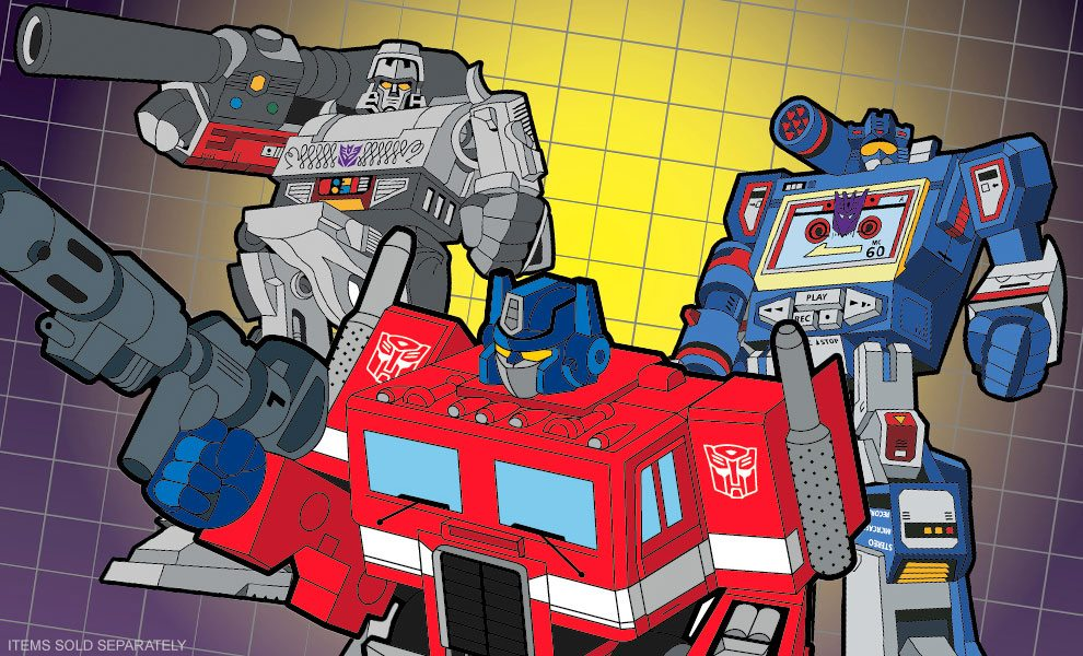 NEW Transformers Collectibles by Icon Heroes