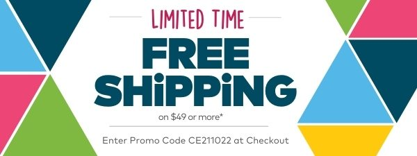 Limited Time - Free Shipping on Orders $49 or More