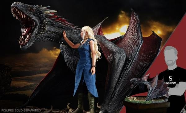 LOW STOCK REMAINING, GET YOURS WHILE SUPPLIES LAST Drogon Sixth Scale Figure by Threezero