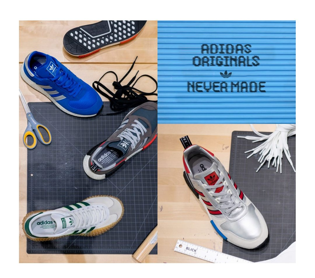 d4fa4d37644 ADIDAS NEVER MADE SOLE SWAP — NAPA — UNDERCOVER X EASTPAK ...