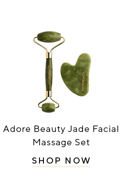 Adore Beauty Jade Facial Massage Set