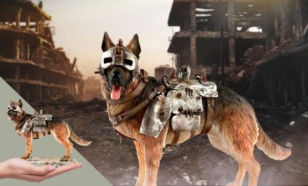 $15 OFF NOW Fallout - Dogmeat Statue by Chronicle Collectibles