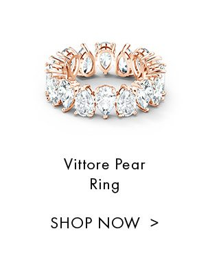 Vittore Pear Ring