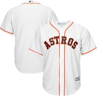 Majestic Houston Astros White Official Cool Base Jersey
