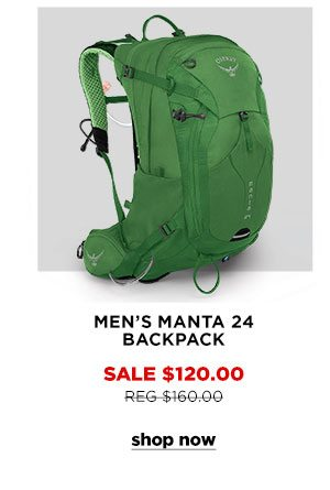 Men's Manta 24 Backpack - Click to Shop Now