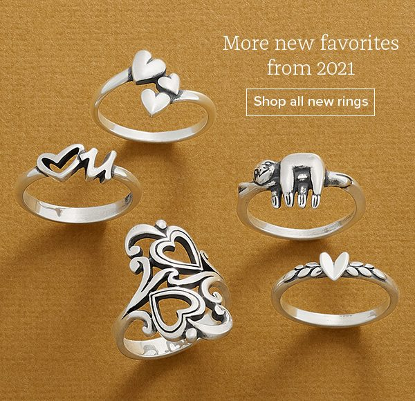 More new favorites from 2021 - Shop all new rings