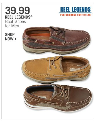 Shop 39.99 Reel Legends Boat Shoes for Men
