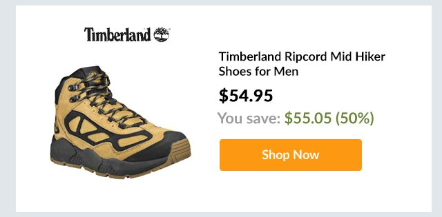 Timberland Ripcord Mid Hiker Shoes for Men