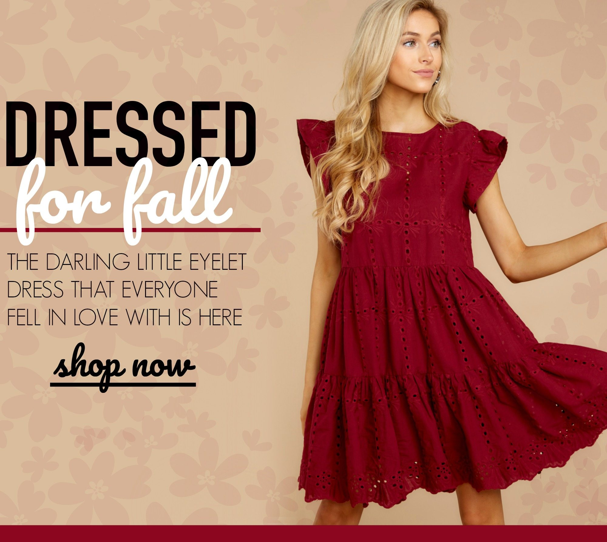 96361324 Wish granted: the little burgundy dress is here! - Red Dress ...