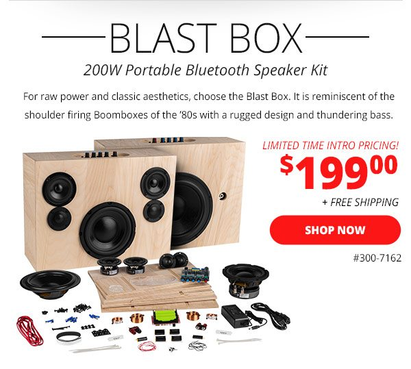⌛ LAST DAY – Bluetooth Speaker Kits - Parts Express Email Archive