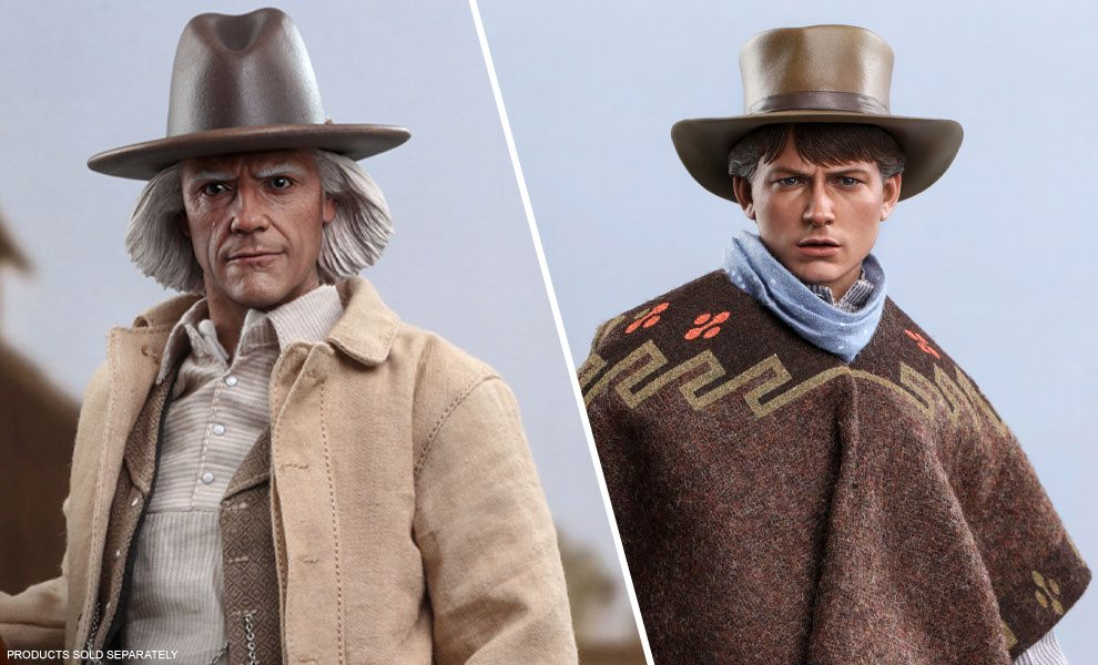 NEW Doc & Marty Figures by Hot Toys