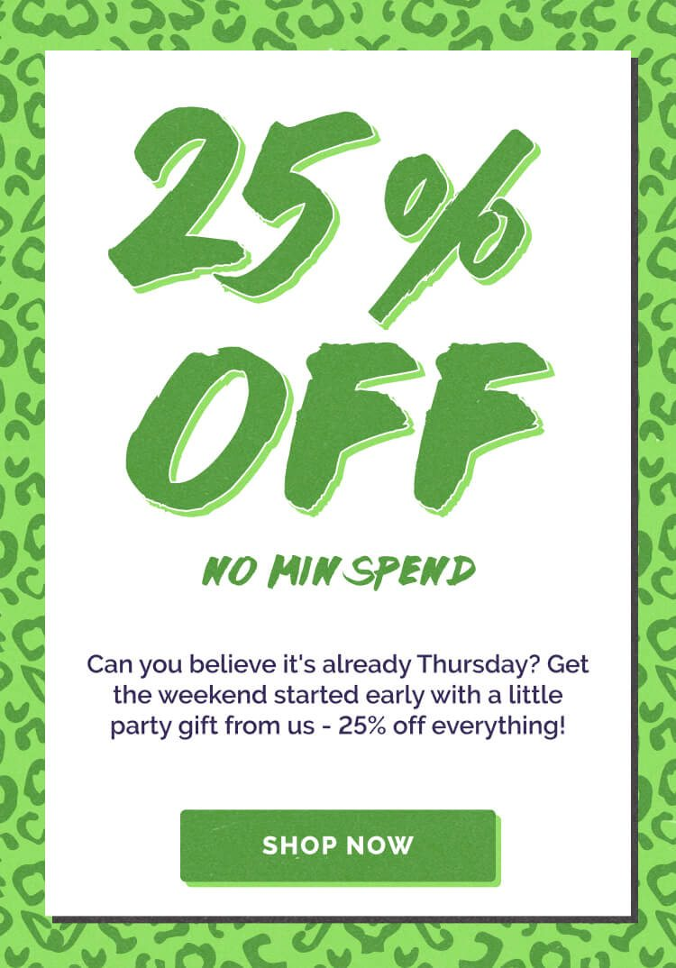 Back to School Starts Here! 25% off Purchase