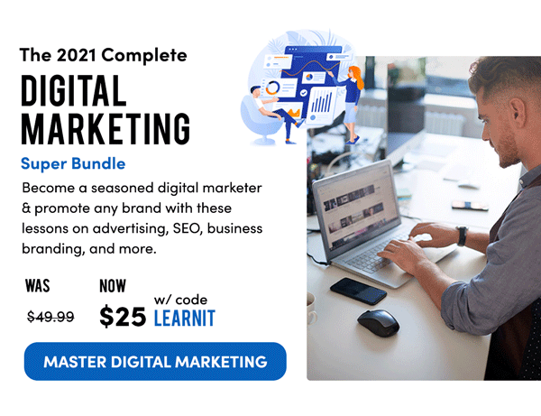 2021 Digital Marketing Super Bundle | Master Digital Marketing