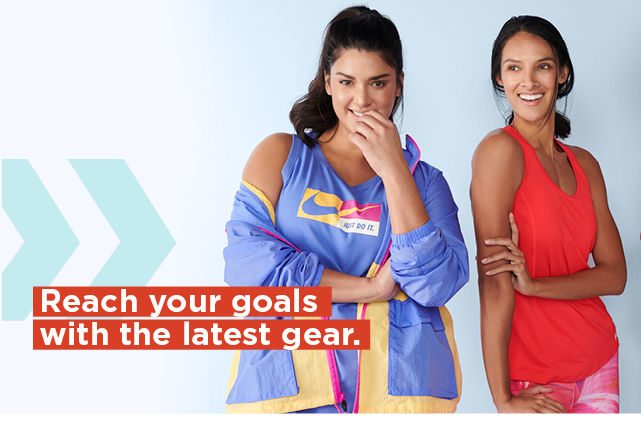 reach your goals with the latest gear. shop all active.