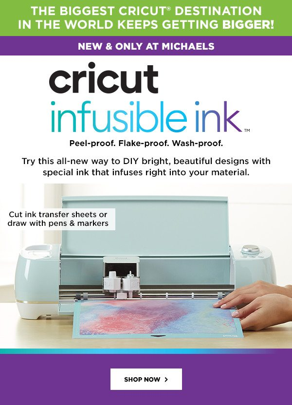 Drop Everything! Cricut's Newest, Most Amazing Way to DIY Is Here