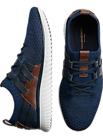 Cole Haan GrandMtion Navy Stitchlite Lace Ups