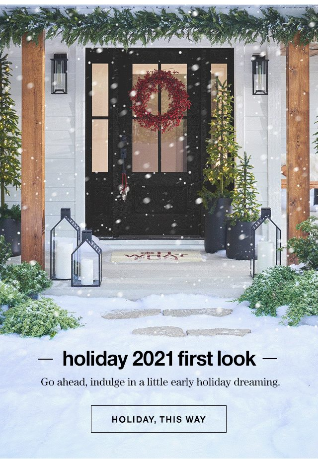 Holiday 2021 first look