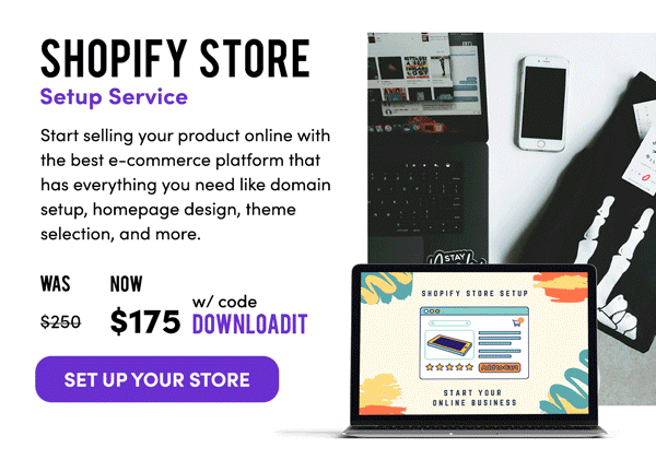Shopify Store Service | Set-Up Your Store
