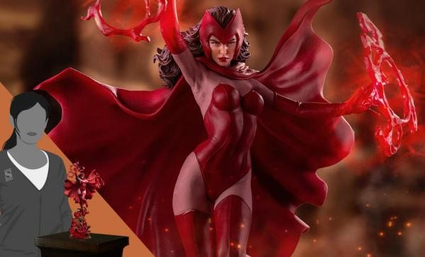 Scarlet Witch 1:10 Scale Statue by Iron Studios