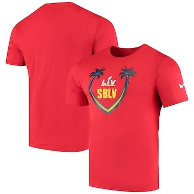 Nike Super Bowl LV Icon Performance T-Shirt – Red