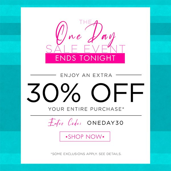 Last Chance - 30% OFF Mother's Day Event
