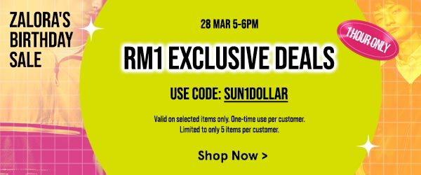 RM1 Exclusive Deals!