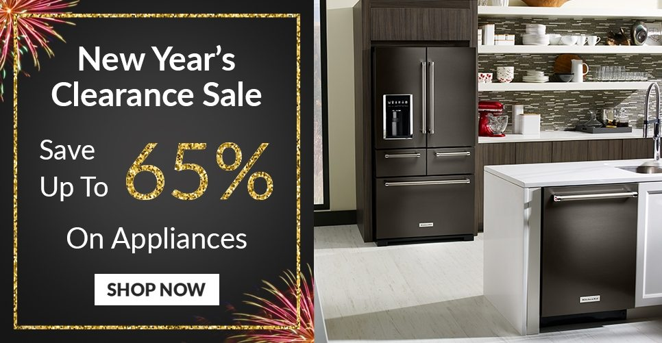 New Year's Clearance Appliance Sale