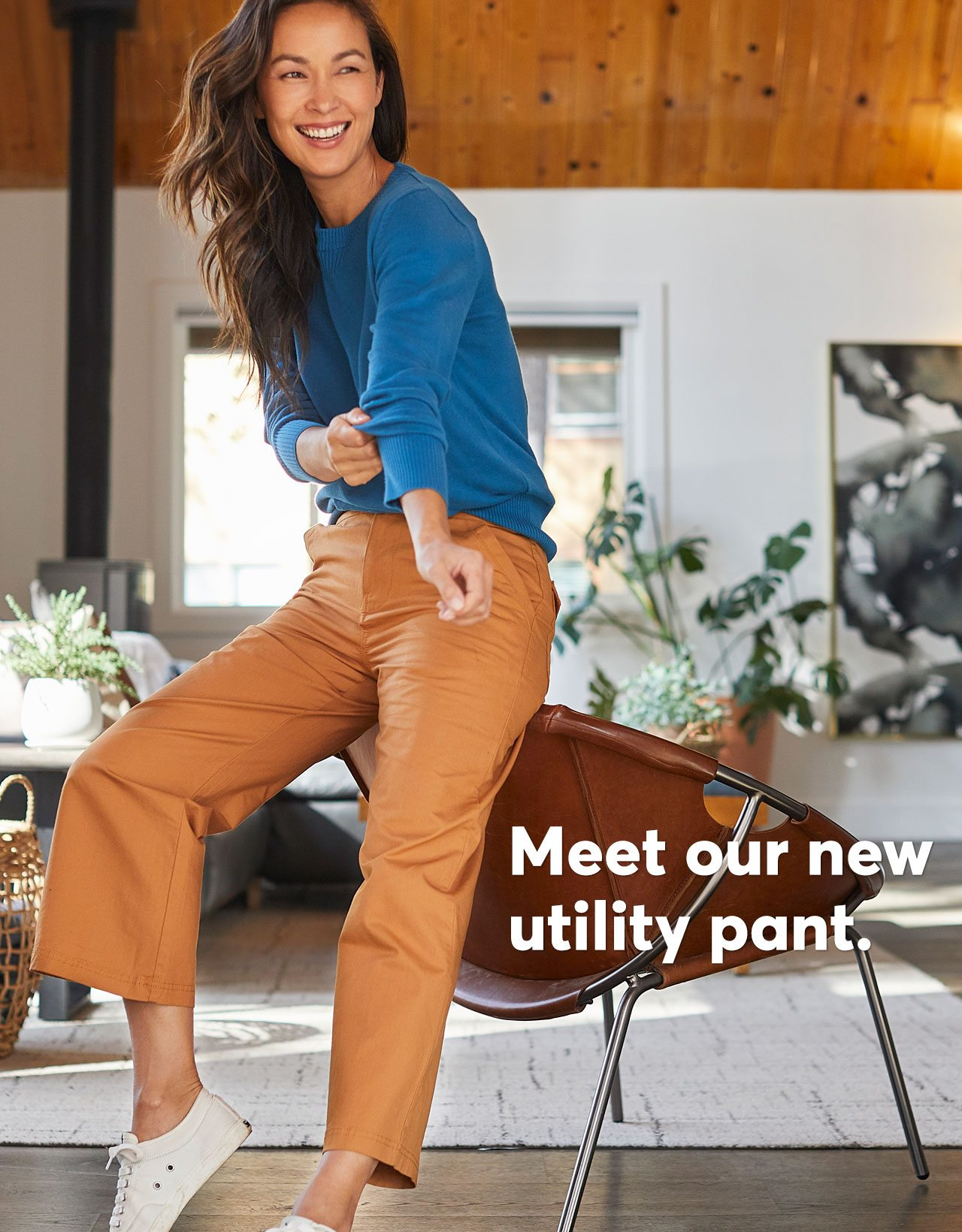 Meet our new utility pant.