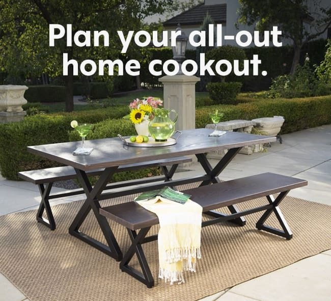 Plan You All-Out Home Cookout.
