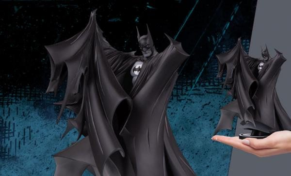 NOW AVAILABLE Batman Black & White Todd McFarlane Statue by DC Direct