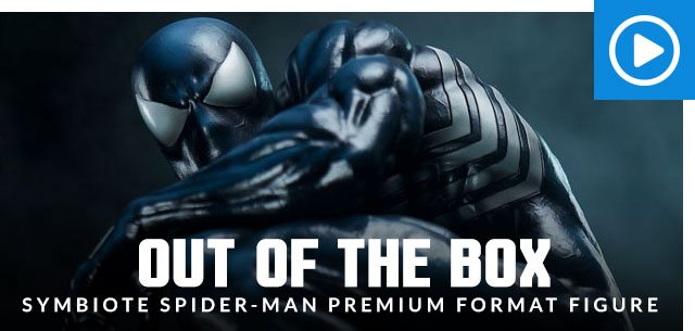 Out of the Box: Symbiote Spider-Man Premium Format Figure