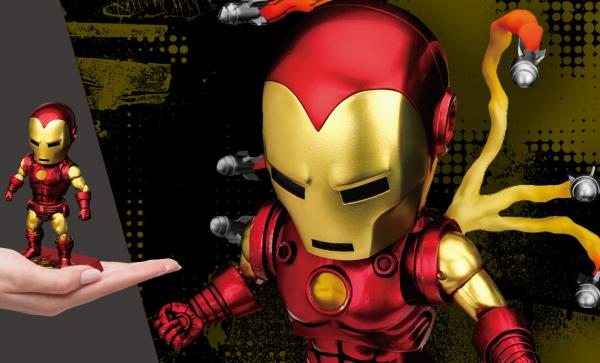 Iron Man Classic Version Action Figure by Beast Kingdom