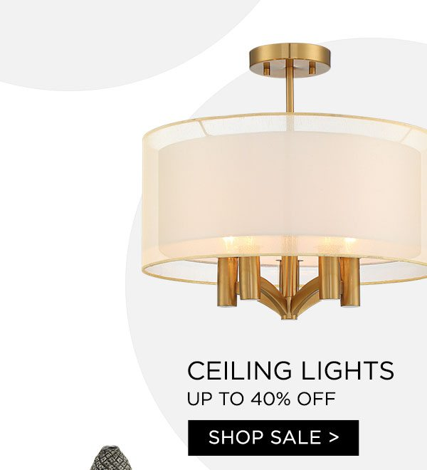 Ceiling Lights - Up To 40% Off - Shop Sale >