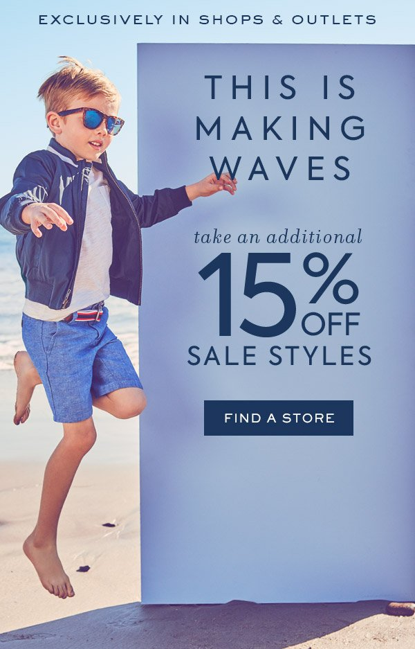 7b365d6886e3 This Sale Is Making Waves… - Janie and Jack Email Archive