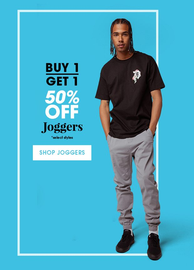 Shop Men's Joggers Buy One Get One 50% Off