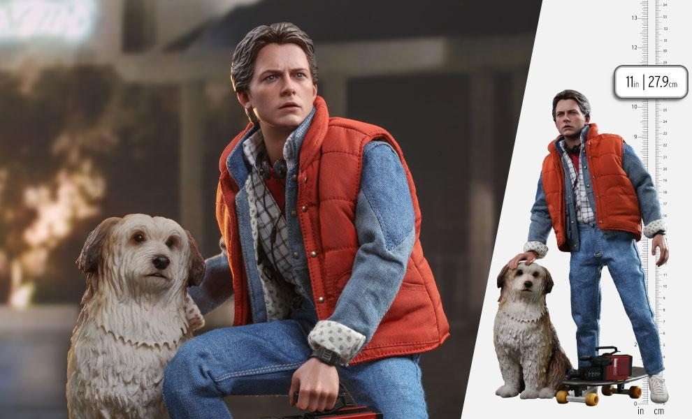 Marty McFly & Einstein Sixth Scale Set by Hot Toys
