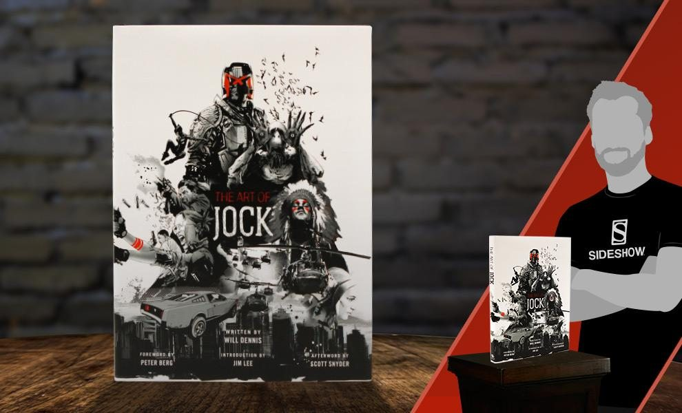 The Art of Jock Hardcover Book (Insight Editions)