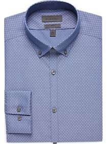 Calvin Klein Blue Diamond Slim Fit Dress Shirt