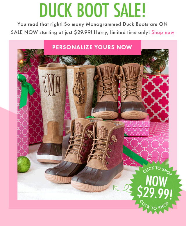 DUCK BOOT CLEARANCE 🎉 - Marleylilly