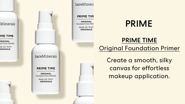 Prime - Prime Time Original Foundation Primer, Creates a smooth, silky canvas for effortless makeup application.