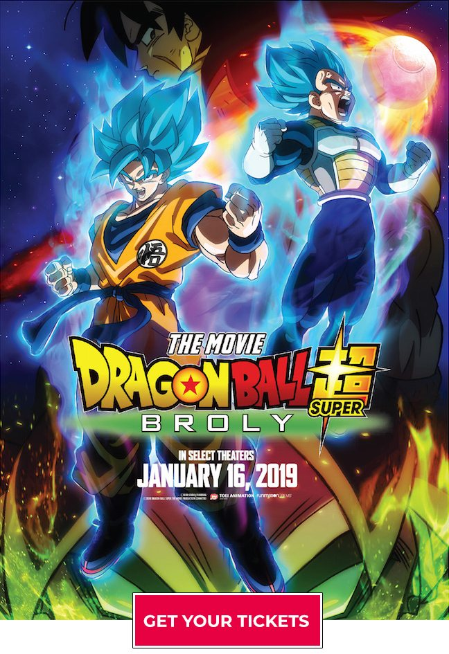 Dragon Ball Super Broly Coming To Theaters Right Stuf Anime